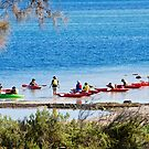 Water activities in and around Coffin Bay, South Australia by Ian Berry