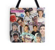 Carter Reynolds Collage Tote Bag