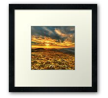 Sunset from The Bluff Framed Print