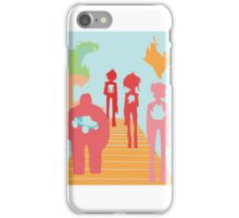 Gorillaz History Silhouette iPhone Case/Skin