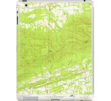 USGS TOPO Map Arkansas AR Bates 257941 1958 24000 iPad Case/Skin