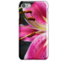 A Study In Lilies - XVIII iPhone Case/Skin