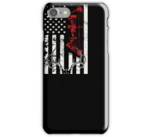 Deer Hunting Flag T-shirt iPhone Case/Skin