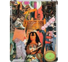 Red Indian with Artists Work. iPad Case/Skin