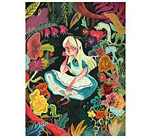 Alice in Wonder Photographic Print