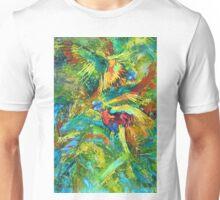 Lorikeet splash Unisex T-Shirt