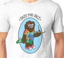 Stoner Sloth - Pass the Salt Unisex T-Shirt