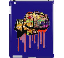 Graffiti covered fist iPad Case/Skin