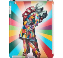 New York's Colorful Kiss in 1945 iPad Case/Skin