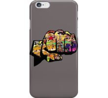 Graffiti fist iPhone Case/Skin