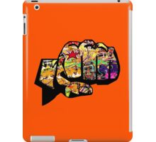 Graffiti fist iPad Case/Skin