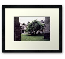 Cloisters Noyons France 198405080024 Framed Print
