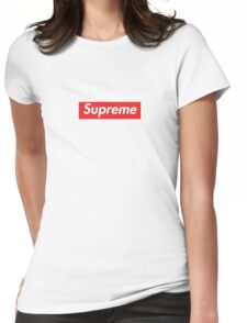 Supreme Box Logo Womens Fitted T-Shirt