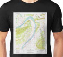 USGS TOPO Map Arkansas AR Gleason 258576 1961 24000 Unisex T-Shirt