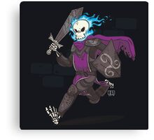 The Late Death Knight Canvas Print