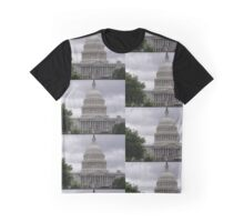 Capitol Building in Washington DC Graphic T-Shirt