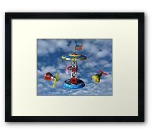 Mercury Astronaut Orbit Vintage Tin Toy Framed Print