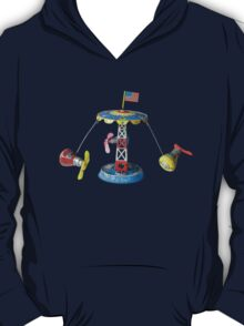 Mercury Astronaut Orbit Vintage Tin Toy T-Shirt