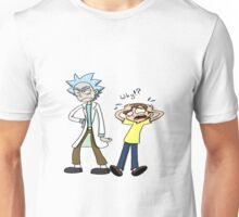 rick and morty angry Unisex T-Shirt