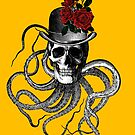 Squid, Skulls and Roses by monsterplanet
