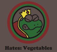 Hates: Vegetables Baby Tee