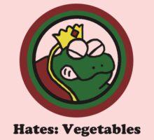 Hates: Vegetables Kids Tee