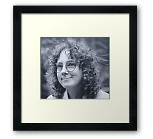 'Donna Williams' aged 27 Framed Print