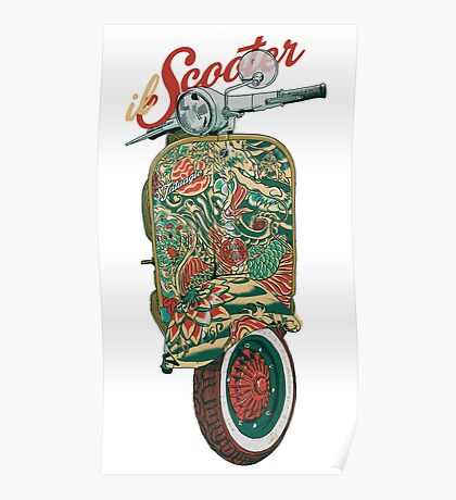 il Scooter Poster
