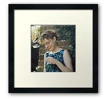 'Donna Williams' aged 36 Framed Print
