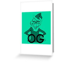 OG Grinch Greeting Card