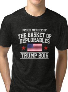 The Basket of Deplorables Tri-blend T-Shirt