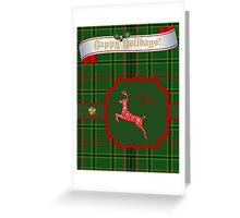 Outlander Christmas  Greeting Card