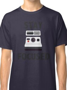 Cool Retro Camera Pun Classic T-Shirt