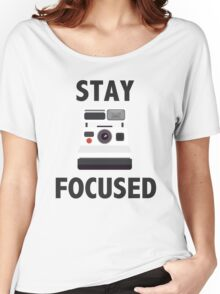 Retro Photographer Women's Relaxed Fit T-Shirt