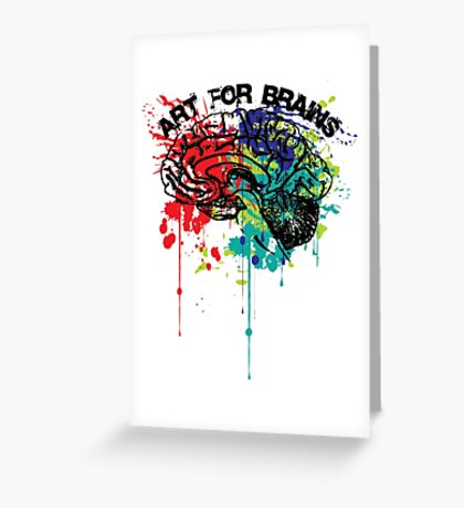 art for brains Greeting Card