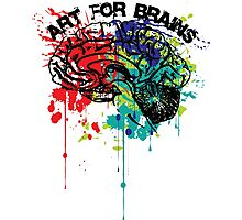 art for brains Photographic Print