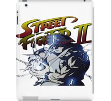 Street Fighter 2 - Ryu Hudouken iPad Case/Skin