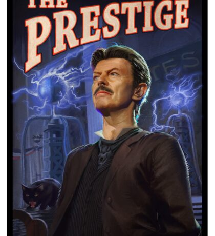 David Bowie - The Prestige Sticker