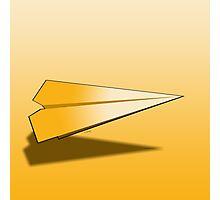 Paper Airplane 17 Photographic Print