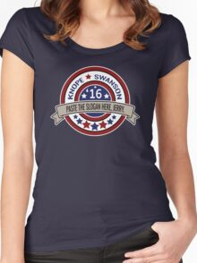 KNOPE SWANSON 2016! Women's Fitted Scoop T-Shirt