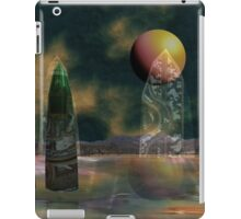 Strange reflections of an uncertain future iPad Case/Skin