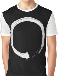 Zen Enso White Graphic T-Shirt
