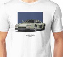 Ferrari Testarossa (silver) Unisex T-Shirt
