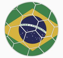 Brazil Football Design by canossagraphics