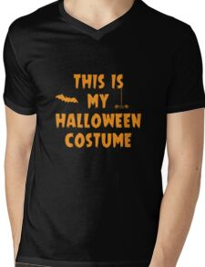 This Is My Halloween Costume Party Outfit Mens V-Neck T-Shirt