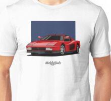 Ferrari Testarossa (red) Unisex T-Shirt