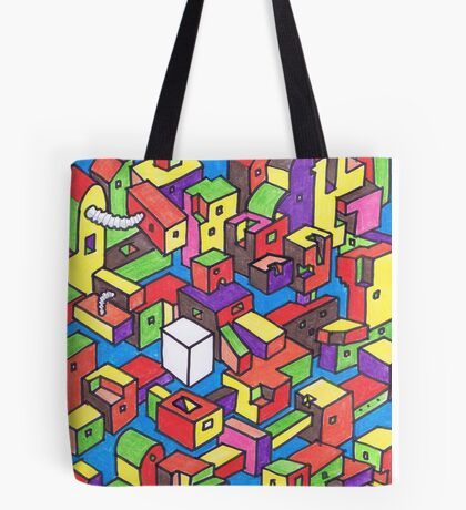 New Town #4 (Colour) Tote Bag