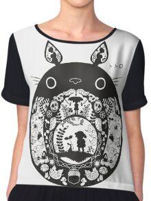 Totoro II Chiffon Top