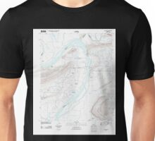 USGS TOPO Map Arkansas AR Gleason 20110721 TM Unisex T-Shirt