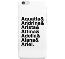 Daughters of Triton iPhone Case/Skin